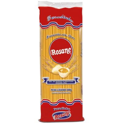 6316 - macarrão espaguete furadinho ovos Rosane 500g