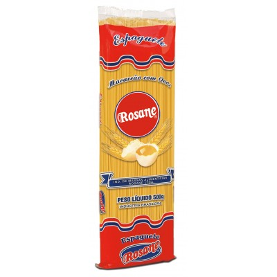 6323 - macarrão espaguete ovos Rosane 500g