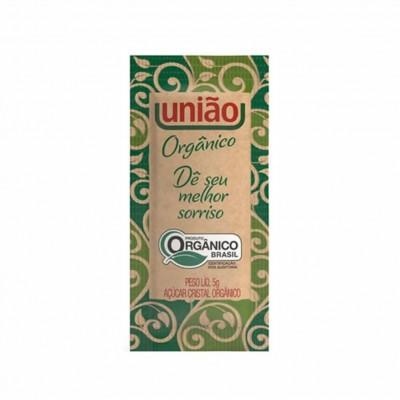 6333 - sachê açúcar orgânico União 400 x 5g