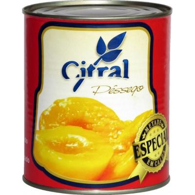 6360 - pêssego extra calda metades Citral 430g