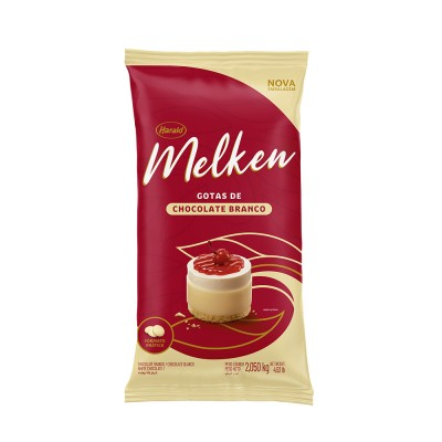 6369 - chocolate branco gotas 2,1kg Melken