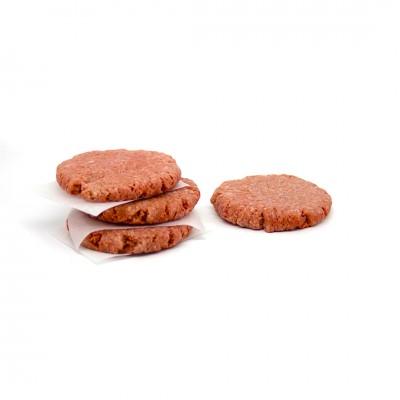 6508 - hambúrguer blend costela Wessel 180g diâmetro 12/espessura 1,8cm caixa 6kg