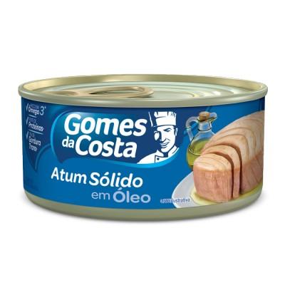 6526 - atum sólido óleo Gomes da Costa 120g