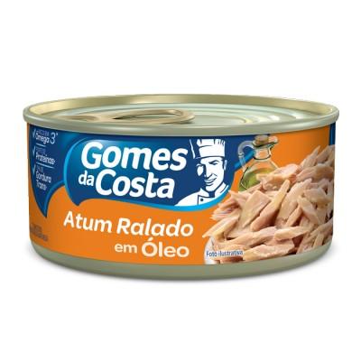 6527 - atum ralado óleo Gomes da Costa 130g