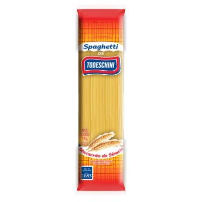 6558 - macarrão espaguete sêmola Todeschini 1kg