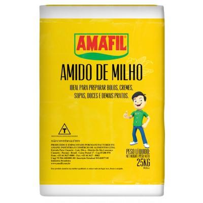 6640 - amido de milho Amafil 25kg