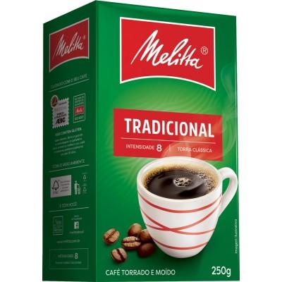 6680 - café tradicional Melitta vácuo 250g