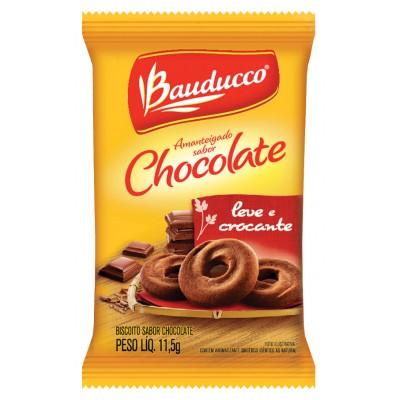 6702 - sachê biscoito chocolate Bauducco 400 x 11,8g