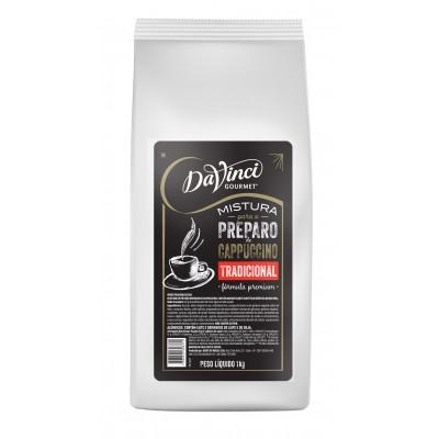 6752 - mistura para o preparo de cappuccino tradicional DaVinci 1kg