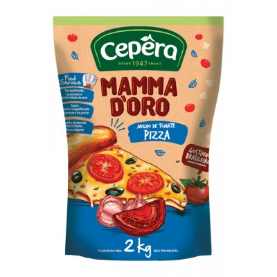 6797 - molho tomate pizza Mamma D'oro 2kg