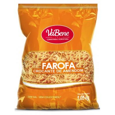 6811 - farofa amendoim crocante Vabene 1,05kg