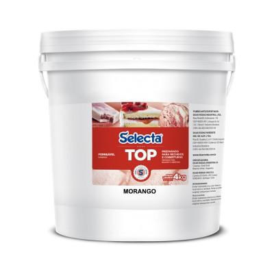 6856 - recheio e cobertura forneável morango Selecta balde 4kg