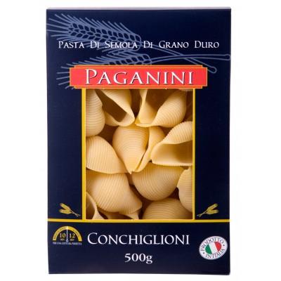 6874 - macarrão Grano duro conchiglioni Paganini 500g
