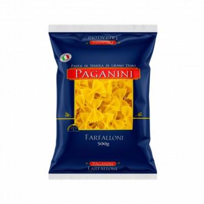 6877 - macarrão Grano duro farfalloni (gravata) Paganini 500g