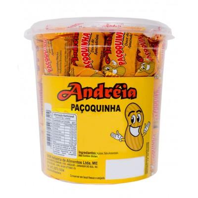 6886 - doce paçoquinha rolha embalada Andréia 56 x 16g