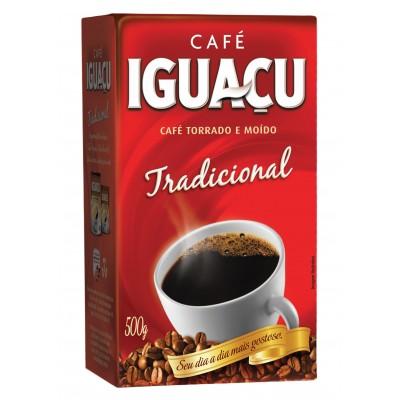 6896 - café tradicional Iguaçu vácuo 500g