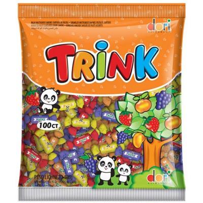 7038 - bala mastigavel sabores sortidos Trink Dori 400g