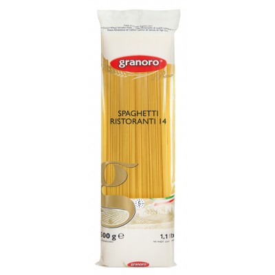 7106 - macarrão Grano duro espaguete Granoro 500g