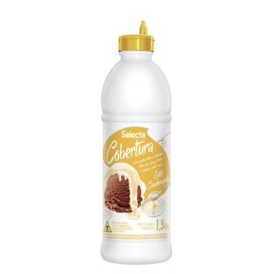 7226 - Selecta cobertura para sorvete leite condensado 1,3kg