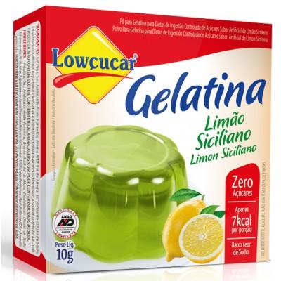 7304 - gelatina diet limão siciliano Lowçúcar 10g