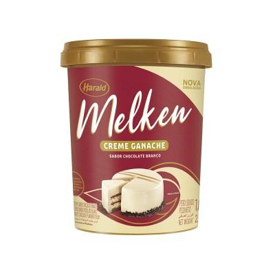 7333 - ganache chocolate branco Melken 1kg