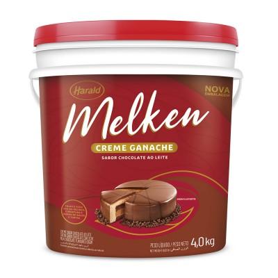 7335 - ganache chocolate ao leite Melken 4kg
