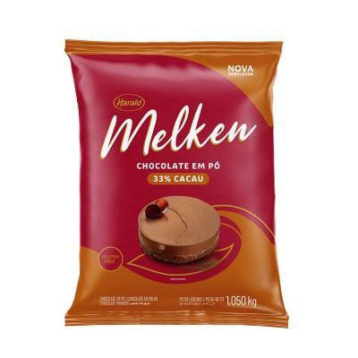 7339 - chocolate pó 33% cacau Melken 1,05kg
