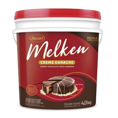 7369 - ganache chocolate meio amargo Melken 4kg