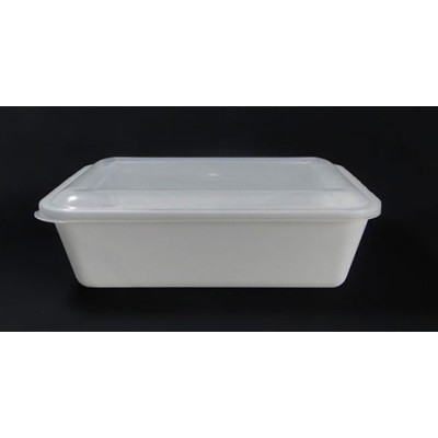 7603 - pote 1,5L branco retangular s/tampa freezer/micro Reflet 25un R061 (tampa 7604)