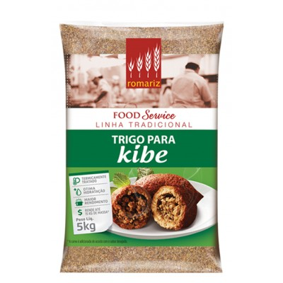 7693 - trigo para kibe Romariz 5kg