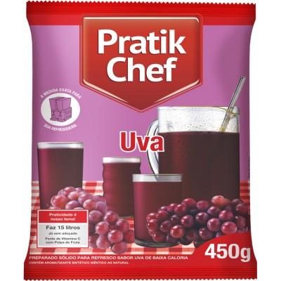 7774 - refresco uva Pratik chef 450g rende 15lt