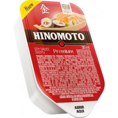7780 - blister tipo barco molho shoyu premium Hinomoto 60 x 30ml