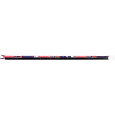 7852 - canudo para lata 21cm x 5mm preto Strawplast 100un