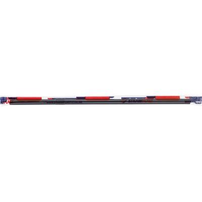 7855 - canudo flexivel 20cm x 6mm preto Strawplast 100un