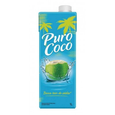 7863 - água de coco Puro Coco 1L