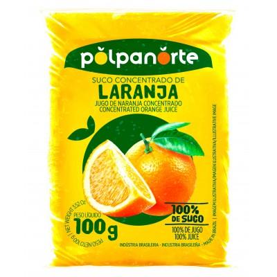 7917 - polpa de laranja Polpa Norte 10 x 100g