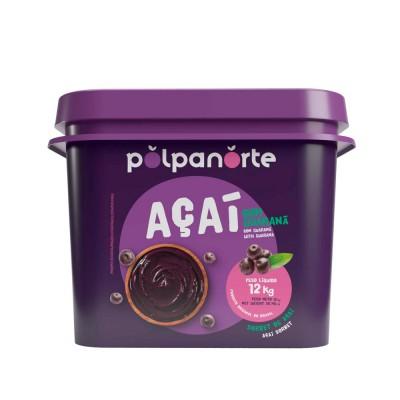 7919 - açaí tradicional Polpa Norte balde 12kg