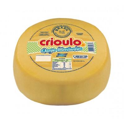 8026 - queijo montanhês Crioulo +/- 5kg
