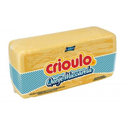 8027 - queijo mussarela Crioulo +/- 4kg