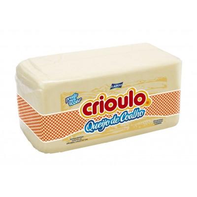 8032 - queijo coalho Crioulo barra +/- 3,8kg