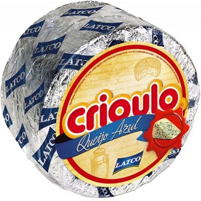 8058 - queijo azul (gorgonzola) Crioulo +/- 2,7kg
